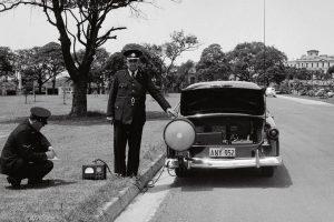 O primeiro radar montado num automóvel
