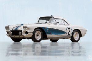 """Chevrolet Corvette """"Gulf Oil"""" Race Car em leilão"""