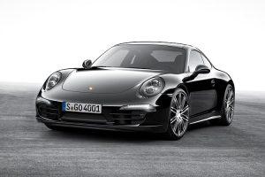 Elegância em Preto: os modelos Boxster e 911 Carrera Black Edition