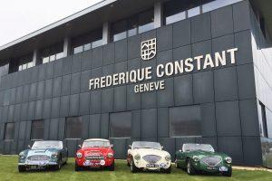Frédérique Constant homenageia a elegância dos carros Austin Healey com a Coleção Vintage Rally