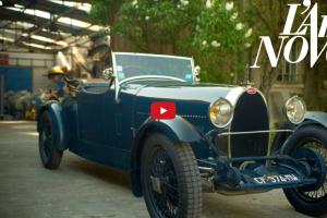 """A arte Novo: Bugatti com passado glorioso está vivo na """"Garage Novo"""" (com Vídeo)"""