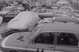 Uma das primeiras corridas pós-revolução, em vídeo