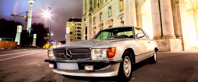 Histórias de proprietários: o Mercedes-Benz 450 SLC