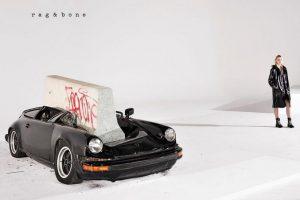 Rag and Bone destrói Porsche 911 em campanha publicitária (com Vídeo)