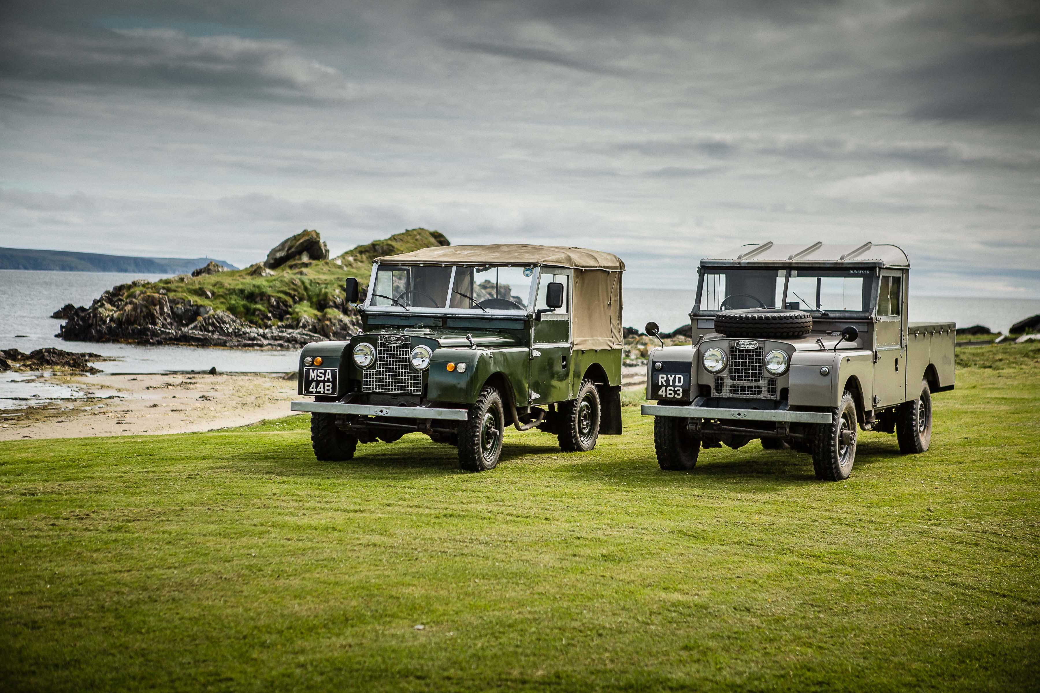 Islay, o local onde nasceu o nome Land Rover