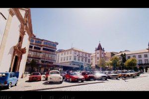Dezenas de automóveis reunidos na Covilhã (com Vídeo)