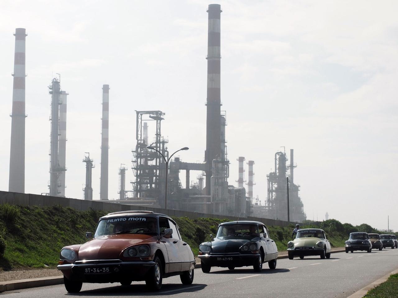 Passeio de Clássicos Citroën comemora 60 anos do modelo DS