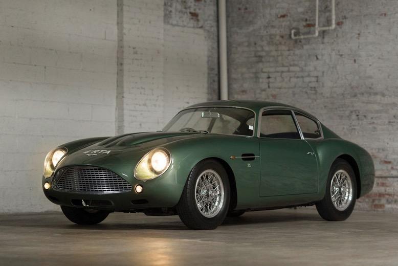 Raro Aston Martin DB4GT vai a leilão (com Vídeo)