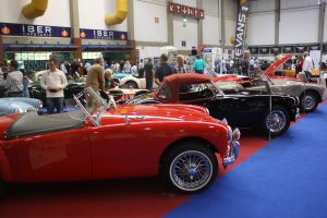 Concentrações de Fiat 600 e Mini alegraram o dia na Exponor
