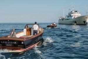 """""""La Sultana"""": o super-iate que já foi um navio espião soviético"""