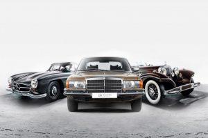 Mercedes-Benz Museum vende modelos clássicos