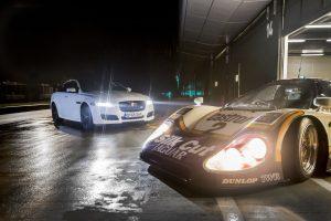 Jaguar XJR marca encontro com o XJ-R9 LM em Silverstone com Andy Wallace (com Vídeo)