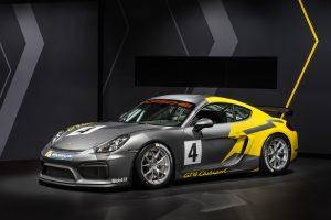 Novo Porsche Cayman GT4 Clubsport lançado em Los Angeles