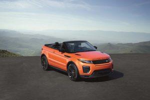 Novo Range Rover Evoque Convertible: um descapotável ideal para todas as estações do ano