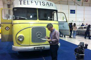 Museu do Caramulo certifica Carro de Exteriores da RTP de 1957