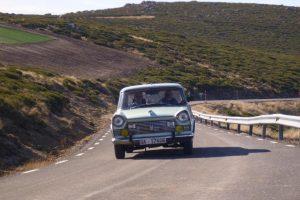 Rallye Sierra de Bejar abre campeonato salmantino de regularidade histórica