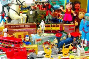 Brinquedo antigo e de colecção de regresso a Lisboa