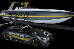 Um Mercedes-AMG GT3 para desbravar o mar?
