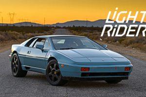 """Este Lotus Esprit é o """"Light Rider"""" renascido (com Vídeo)"""