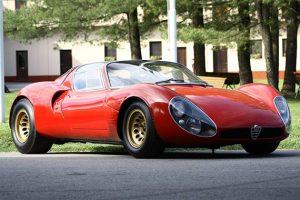 Coys leiloa Alfa Romeo Tipo 33 Stradale
