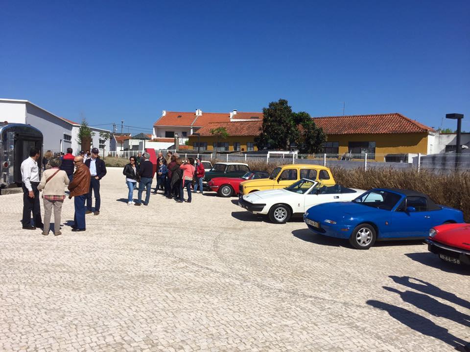 Triumph Club de Portugal visitou Museu Ferroviário no Entroncamento