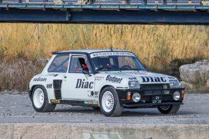 Renault 5 Turbo de Jean-Luc Thérie vai a leilão (com Vídeo)