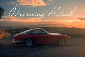 O amanhecer com o Ferrari 250 GT Lusso (com Vídeo)