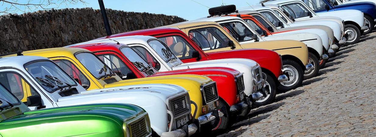 Renault 4 partem à descoberta Grande Lago
