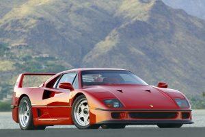 Ferrari F40, o Supercarro mais icónico de sempre