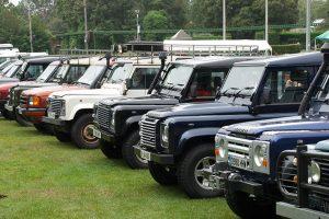 """""""Simply Land Rover"""" dia 7 de Agosto em Beaulieu"""