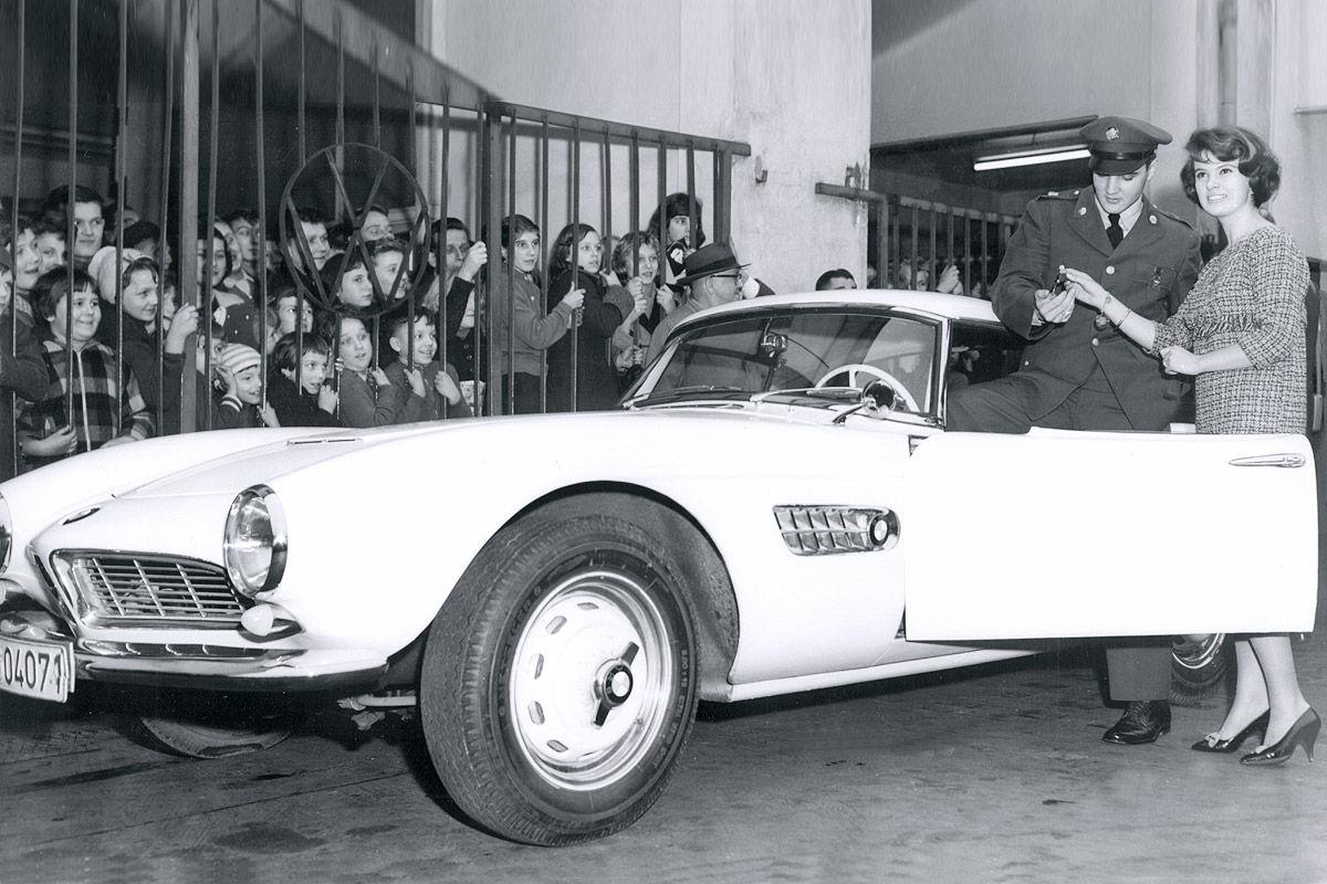 BMW 507 de Elvis Presley foi restaurado e será apresentado nos EUA