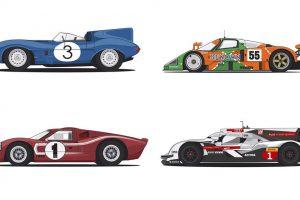 Vídeo de 1 minuto mostra evolução dos vencedores das 24h de Le Mans  (com Vídeo)