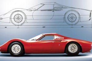 Dino 206P Berlinette Speciale: Artcurial leva a leilão histórico protótipo da Ferrari