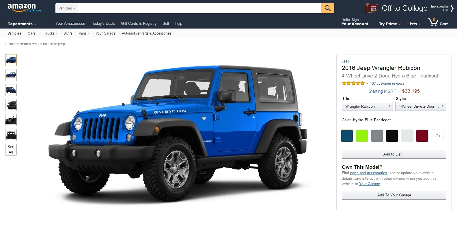 Amazon cria novo motor para pesquisa e avaliação de automóveis