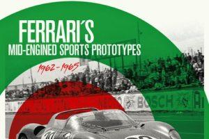 """Ferrari's mid-engined Sports Prototypes"" disponível na livraria Ascari"