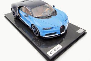 Miniatura Bugatti Chiron que custa quase 10 mil euros