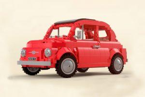 Fiat 500 em Lego (com Vídeo)