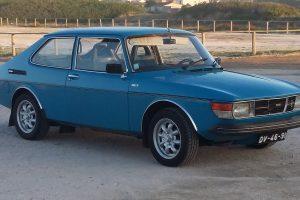 O meu clássico: SAAB 99 de 1977
