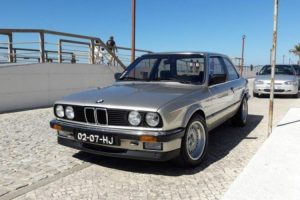 O meu clássico: BMW E30 316 (1.8)