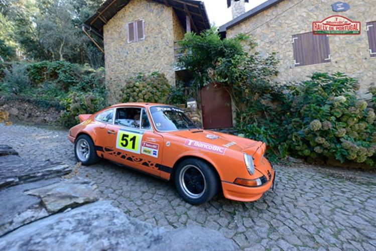 A estreia de Deflandre no Rally de Portugal Histórico