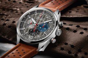 Novo relógio da Zenith inspirado em automóveis clássicos