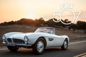 Este BMW 507 renasceu em memória a Elvis Presley