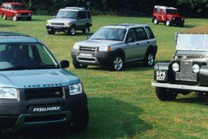Freelander 1 integrado na Land Rover Heritage