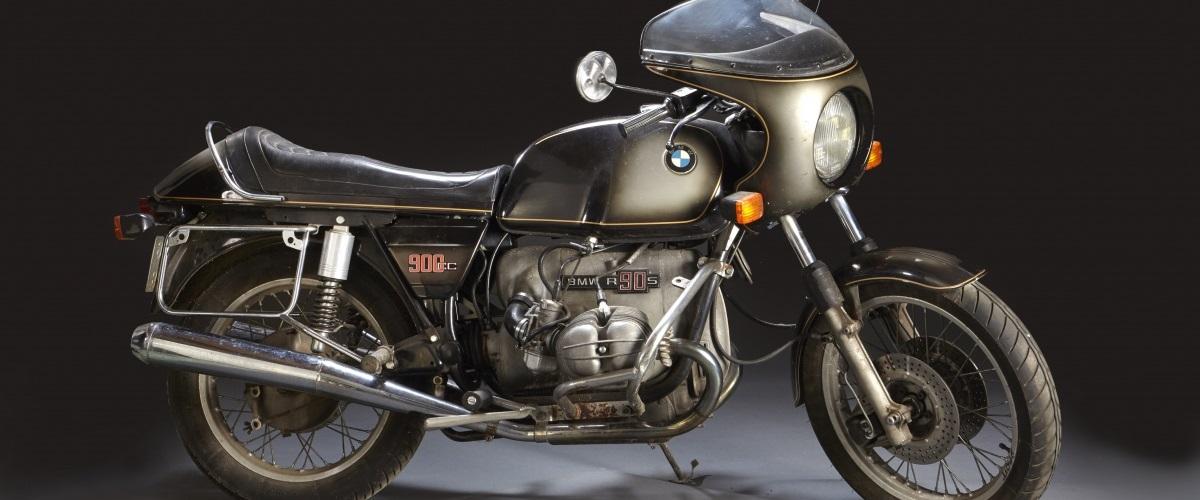 BMW Motorcycles R 90 S de 1975 vai a leilão