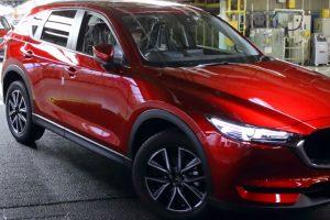 Produção do novo Mazda CX-5 arranca no Japão