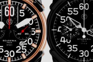 CT Scuderia apresenta relógios inspirados no mundo dos motores