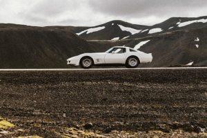 Corvette C3: um 'tubarão' na Islândia