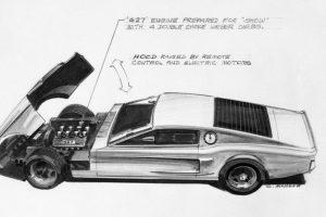 Já alguma vez imaginou como era ser designer da Ford na década de 70?