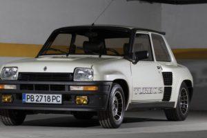 Emblemático Renault 5 Turbo II vai a leilão