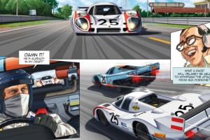 Le Mans de Steve McQueen disponível em Banda Desenhada